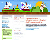 Webseite der naturindianer-kids